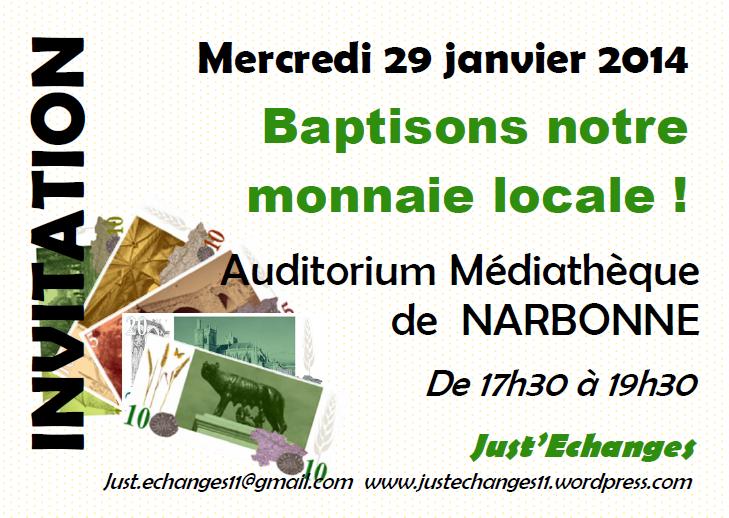 Un nom pour ma monnaie locale du Narbonnais